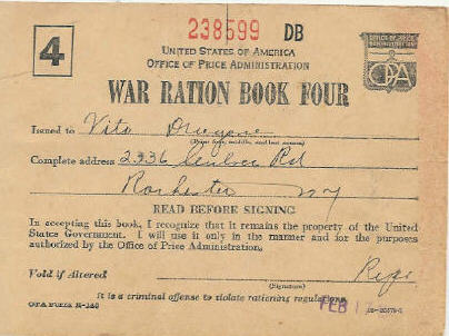 US Homefront WW2 Unit - Rationing, Victory Gardens, Junk Rally, Handout #5 Illustration
